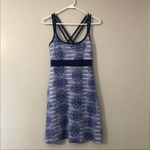 Lola Athletic Dress Size S Cross Straps